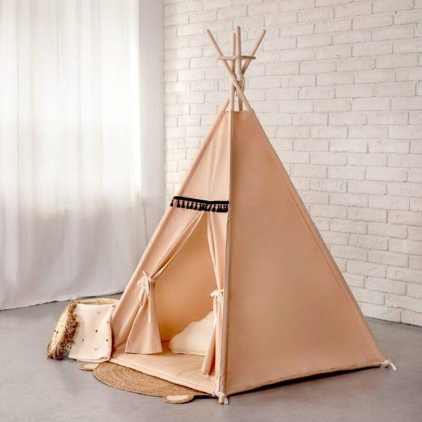 Namiot Tipi dla dziecka beżowy