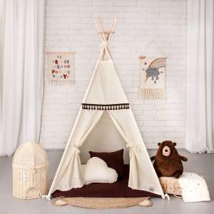 Namioty dla dzieci beżowy